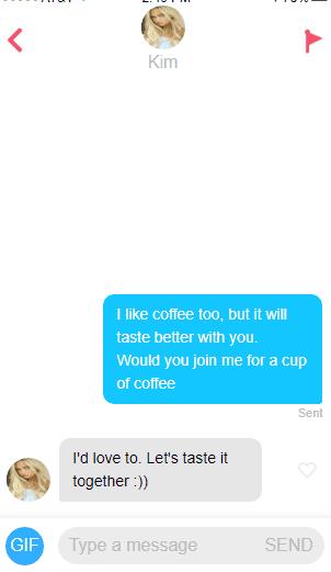 Simple Tinder Opener