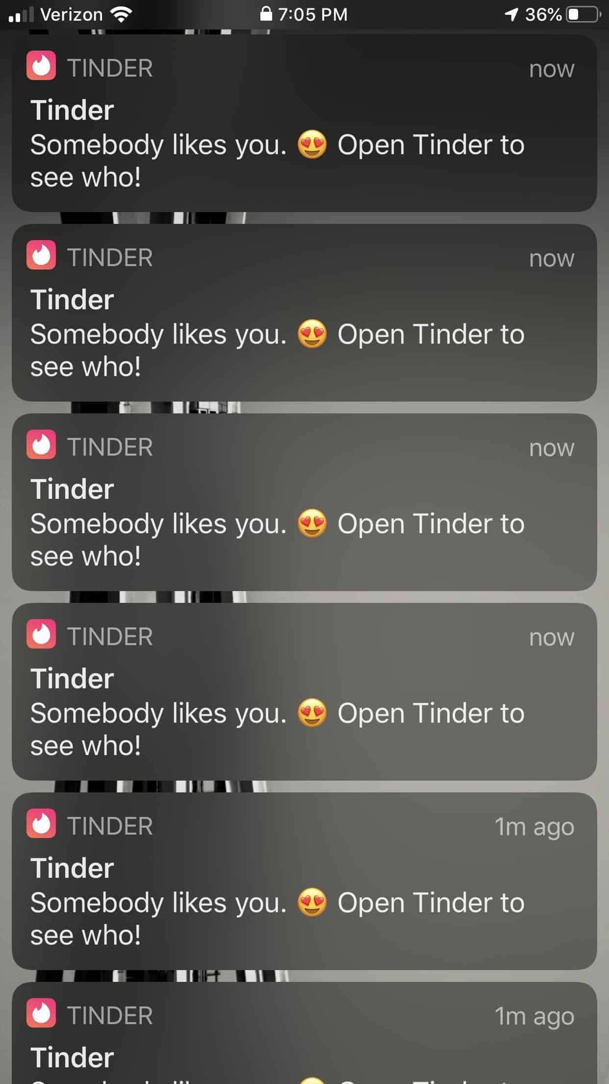 Tinder Openers - Somebody Likes you