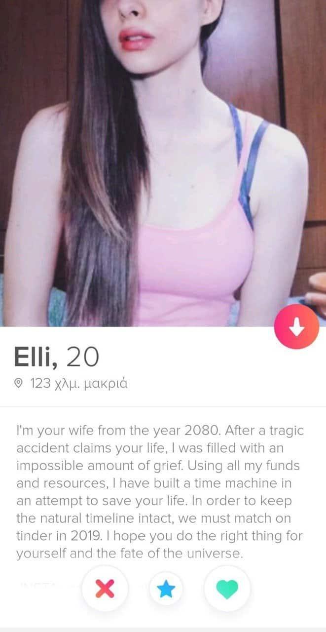 Perfect Tinder Bio for Female