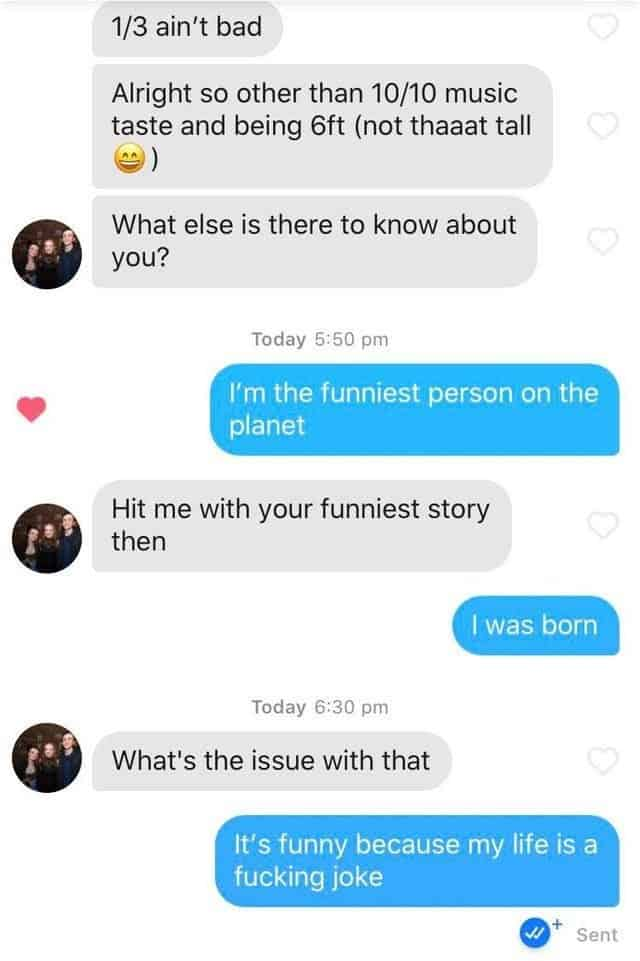 Tinder Convo - your tone of voice via text