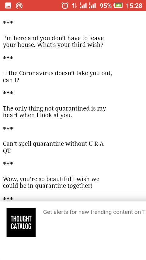 Funny Tinder Pickup lines