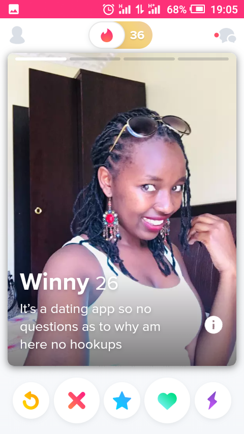Straight to the point - Tinder Profile