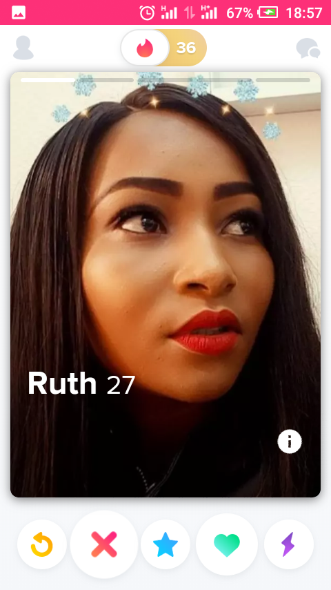 Women Face Capture - Profile Picture on Tinder