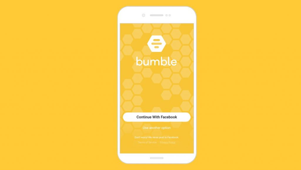 You can use your friend's account to make a search for Bumble profiles.
