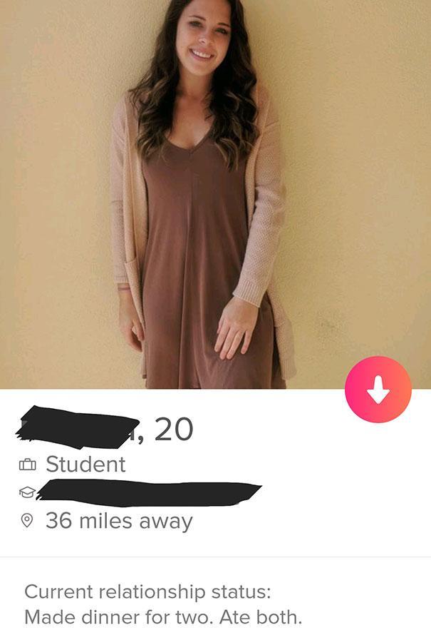 Simple Tinder Bio